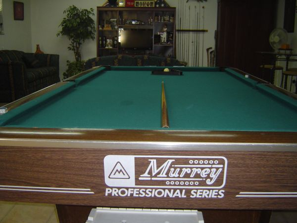 Murrey Regulation Size Pool Table - $500 (San Angelo, TX)