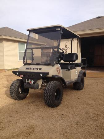 Lifted Club Car DS golf cart -   x0024 4000  san angelo