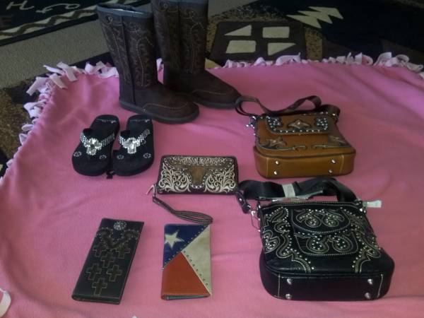 LEATHER WESTERN ACCESSORIES  MENS  midland