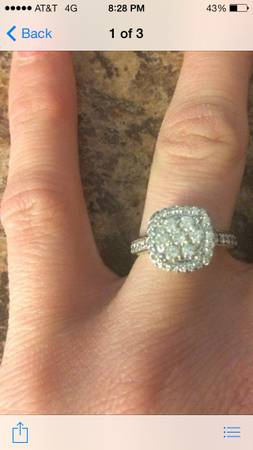 Ring for sale  Worth  1 900 asking  1 000 -   x0024 1000  San Angelo