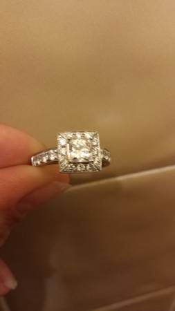 Engagement Ring -   x0024 4000  san angelo