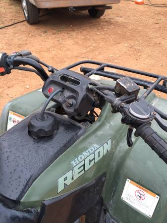 2004 Honda Recon 4 wheeler in Excellent Condition  -   x0024 1600  san angelo