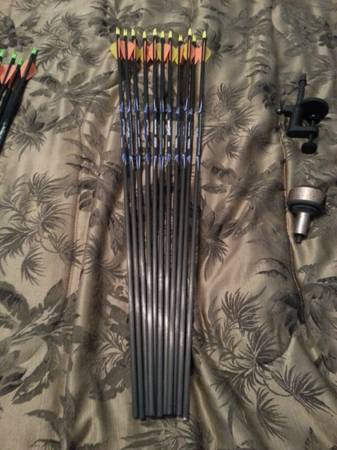 Easton Lightspeed 400s Arrows - $60 (San Angelo)
