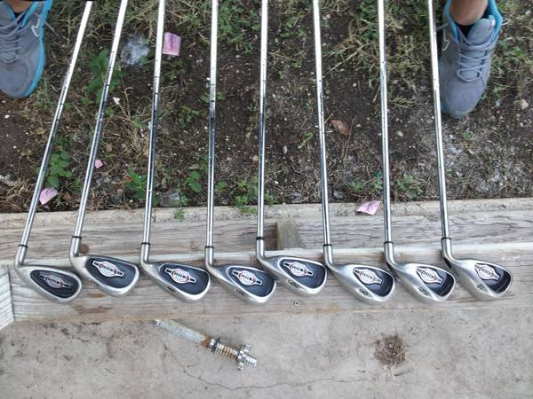 big bertha callaway irons - $120