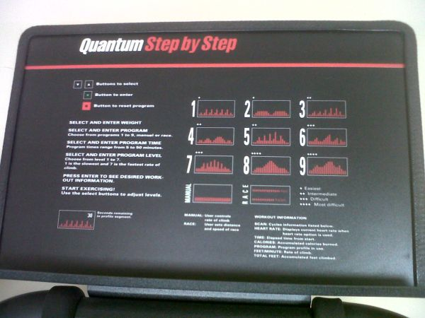 Quantum Bodyguard Step machine - $100 (S. Chadbourne Street)