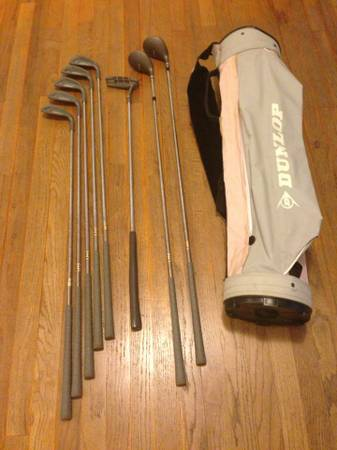 Womens Dunlop Linear Force golf club set  bag - $90 (San Angelo)