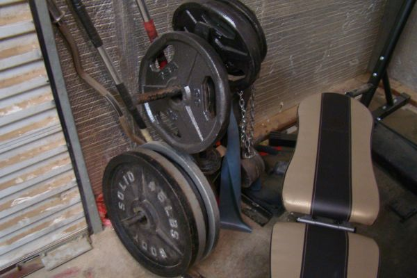 Golds Gym Platinum Smith Machine RackBench Home Gym plus much more - $1800 (San Angelo)