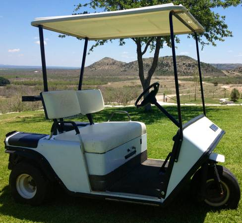 EZ Go Golf Cart - 3 Wheeler - Plus Battery Charger - $300