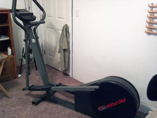 Proform 485E Elliptical - $125 (San Angelo)