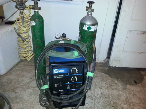 Welder, Millermatic 135 110v Wire Welder - $400 (san angelo)