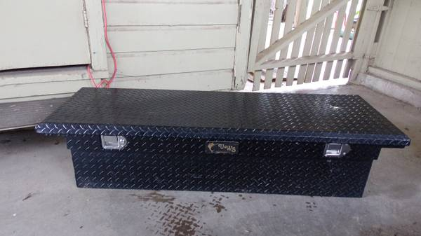 Truck Toolbox For Sale - UWS - Black - $150 (San Angelo)