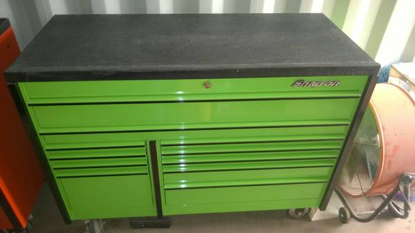 Xtreme Green Snap-On Toolbox -   x0024 3000