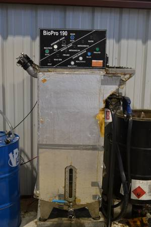 Complete Biodiesel collection processing system  -   x0024 7500  Brady  tx