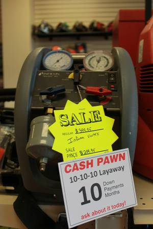 Cash Pawn- Infinicon AC recovery unit - x0024299 (4244 sherwood way)