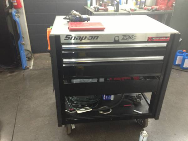 Snap on roll cart - $850 (San Angelo )