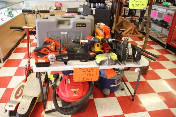 Cash Pawn-Clearance Tools