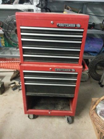 Craftsman 9 drawer tool - $225 (Christoval)