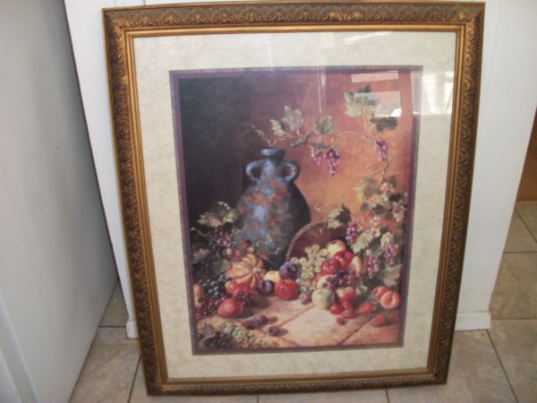 Home Interiors Framed art of painting - $65 (San Angelo, TX)