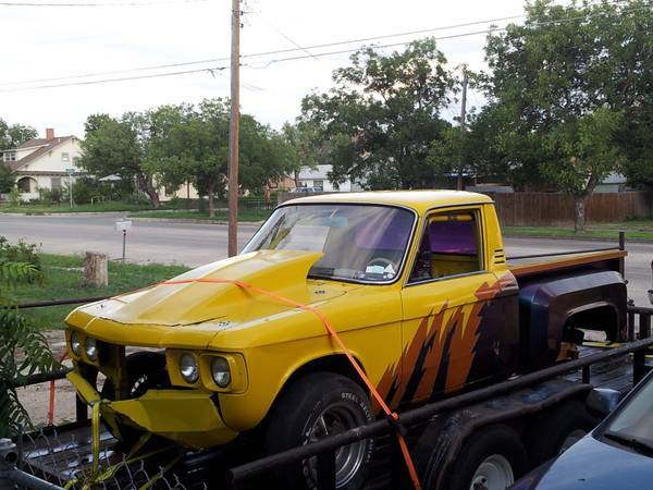 73 chevy luv race truck - $1900 (san angelo)