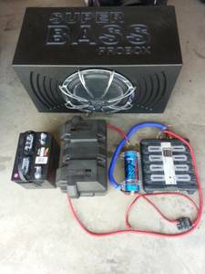 15 inch sub and stereo system - $800 (San Angelo, Tx)