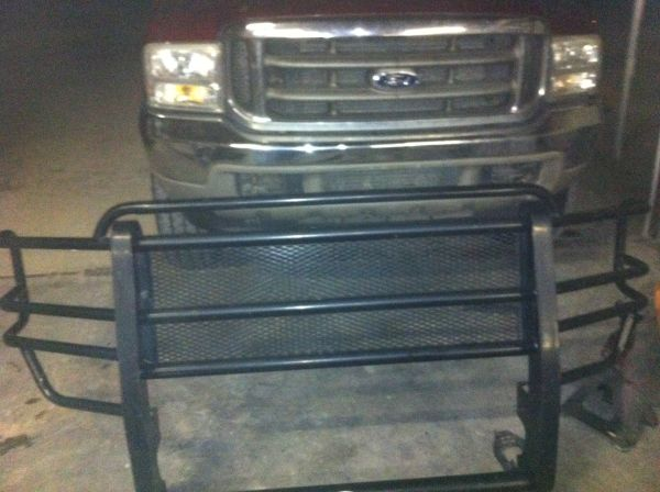 1999-2007 Ford F250 and F350 grill guard - $120