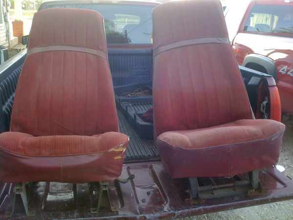 Original K5 blazer seats - $150 (san angelo)