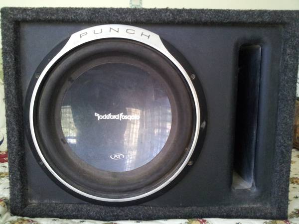 12 Rockford Fosgate p3 Punch Competition Speaker