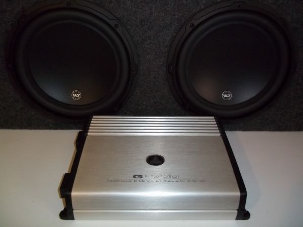JL Audio 10 W3 Subs w 700 Watt Amp (San Angelo)