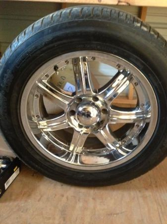 20 Rims and Tires Chevy GMC Suburban Tahoeb set of 4 - $800