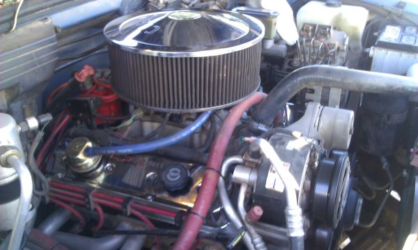 High Performance 355 TBI or Carb Engine with Complete Exhaust System - $4500 (Abilene)