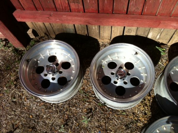 Set of four Eagle Alloy rims - $100 (San Angelo)