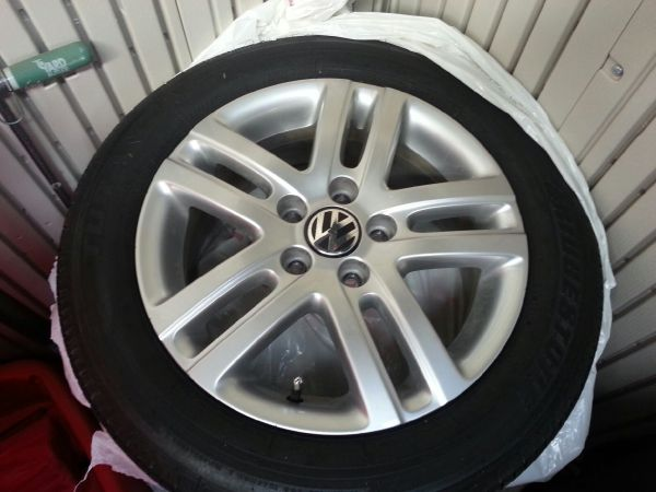 VW Jetta 16 rims and tires - $500 (San Angelo)