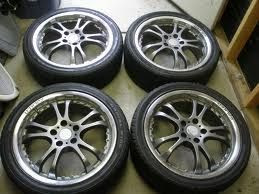 18 inch Falken torque 5 wheel 4x100 4x114.3 civic - $500 (sn angelo)