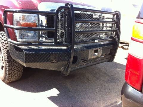 Ford f250 f350 full front ranch hand replacement grill guard for 08-2010 models - $400 (Ranch hand name brand San Angelo)
