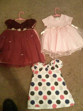 little girls clothes size 18mo-24mo -   x0024 35  san angelo