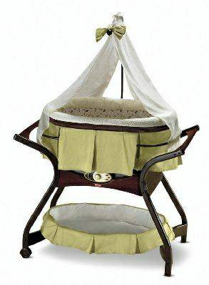 Fisher-Price Zen Collection Gliding Bassinet - $200 (Grape creek)