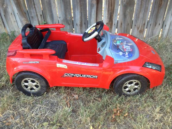 Remote controlled kids car - $125 (San Angelo)