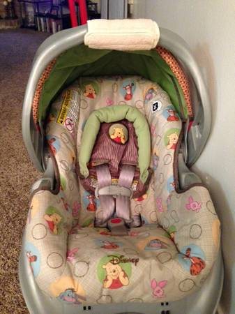 Graco Winnie The Pooh Car Seat And Stroller For Sale