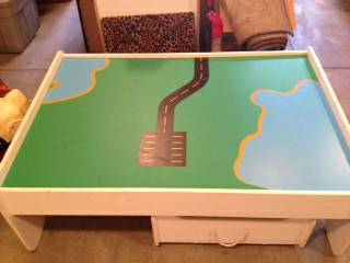 Thomas the Train Storage Table - $75
