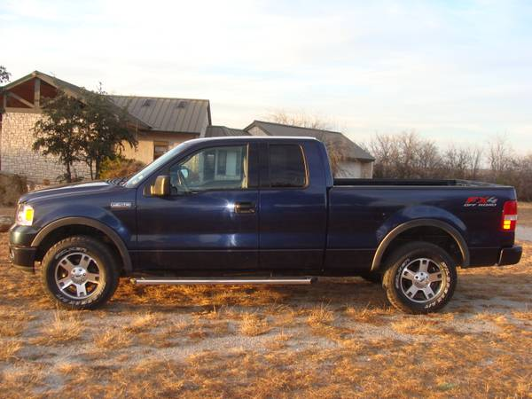 2004 Ford F150 FX4 4X4 Extended Cab Great Condition Low Miles - $11999 (Brady)