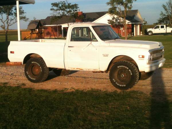 1970 CHEVROLET C 10 4X4 SHORT BED -   x0024 9000  SAN ANGELO