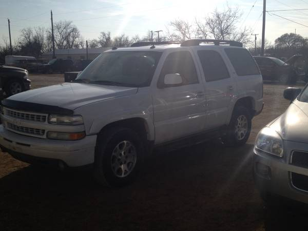 05 Chevy Tahoe Z71 -   x0024 8500  san angelo
