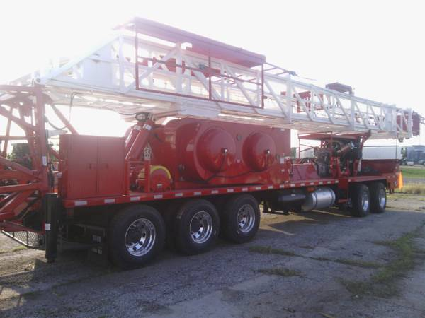 Several pulling unitswell service rigs for sale (e. of edmond)
