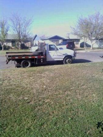 1994 F350 flatbed dually - $2000 (San Angelo, TX)