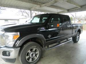 2012 Ford F250 Lariat 4X4 Price Reduced - $42500 (San Saba)