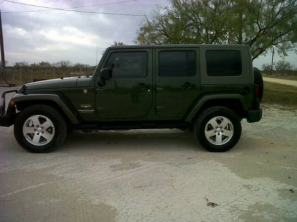 2008 Jeep Wrangler Sahara Unlimited 4X4 - $23500 (San Angelo, Texas)