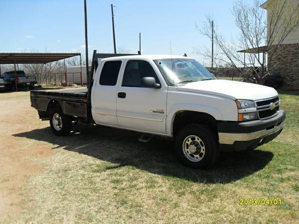 2007 Chevy duramax 4x4 - $10800 (Hawley Texas 79525)