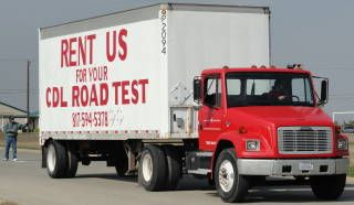 CDL TRUCK RENTAL CDL TEST TRAINING (ALL OF TEXAS)