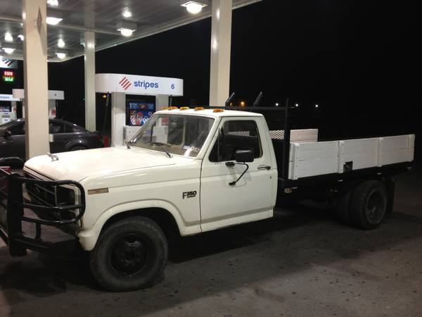 86 F350 Dually Flatbed - $3200 (Val Verde Co)