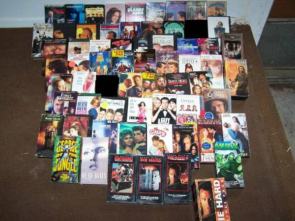 VHS Movies - $30 (Concho Valley)